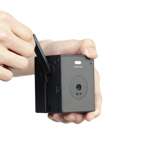 Sun and Cloud Self-Generating Digital Camera - AC Gears - for the innovative things in life. -