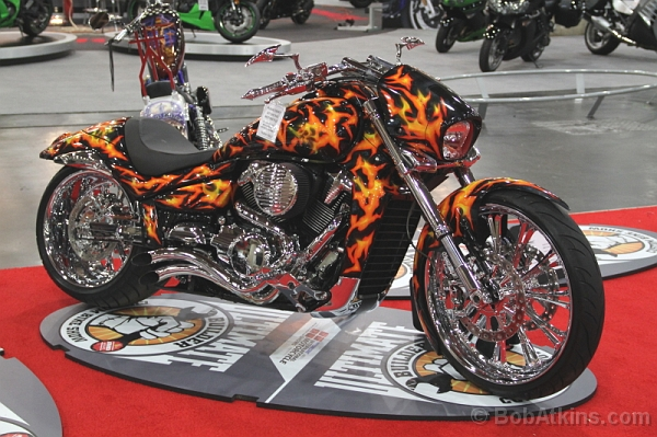 at the 2011 International Motorcycle Show which was held at the Javits