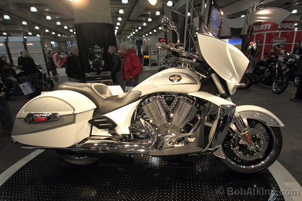 International Motorcycle Show, Javits Center NYC, January 2011