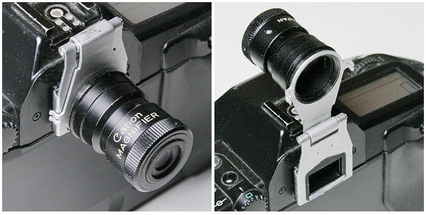 Eyepiece Magnifiers For Canon Cameras
