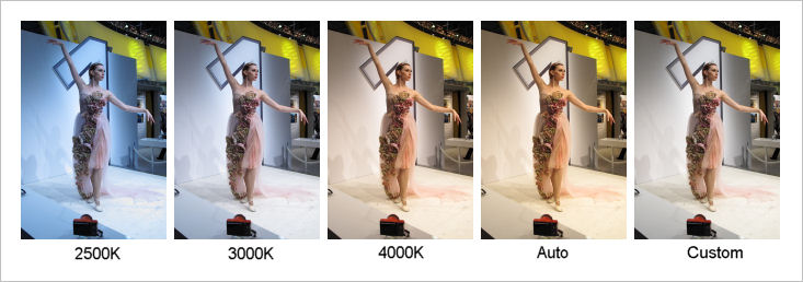 white balance difference