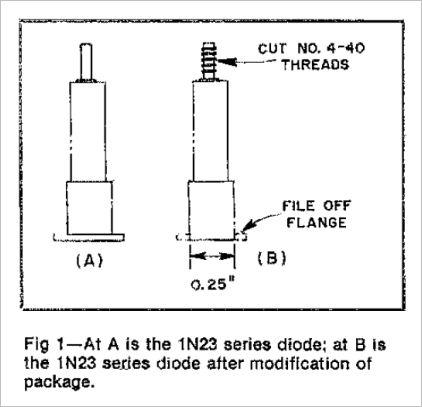 10ghz Diode Detector Mixer Multiplier Bob Atkins Ka1gt